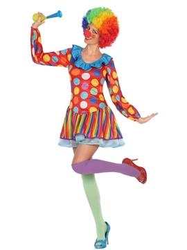 Disfraz de Payaso Mujer