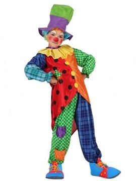Disfraz Payaso Multicolor Infantil
