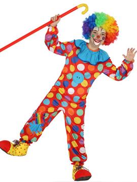 Disfraz Payasito Multicolor Infantil