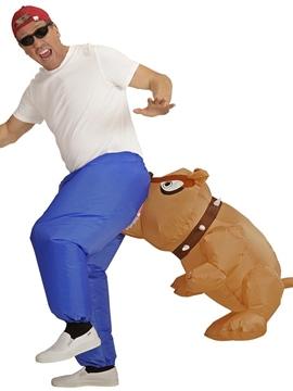 Disfraz Perro Mordedor Hinchable Adulto
