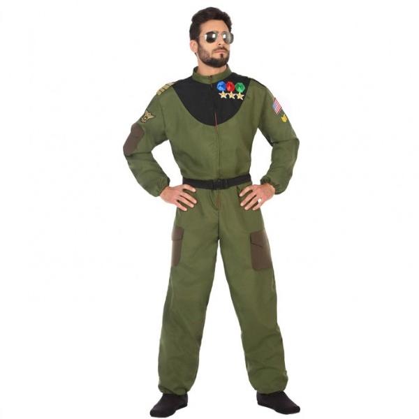 Disfraz Piloto Militar Hombre