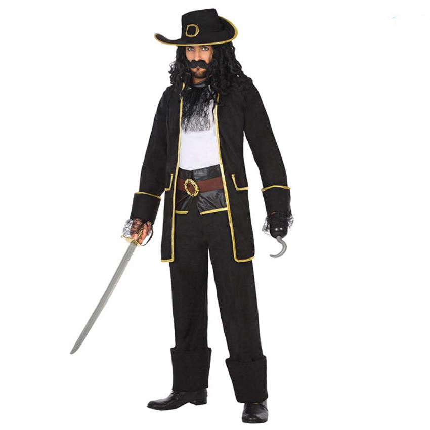 Disfraz Pirata Barba Negra Adulto