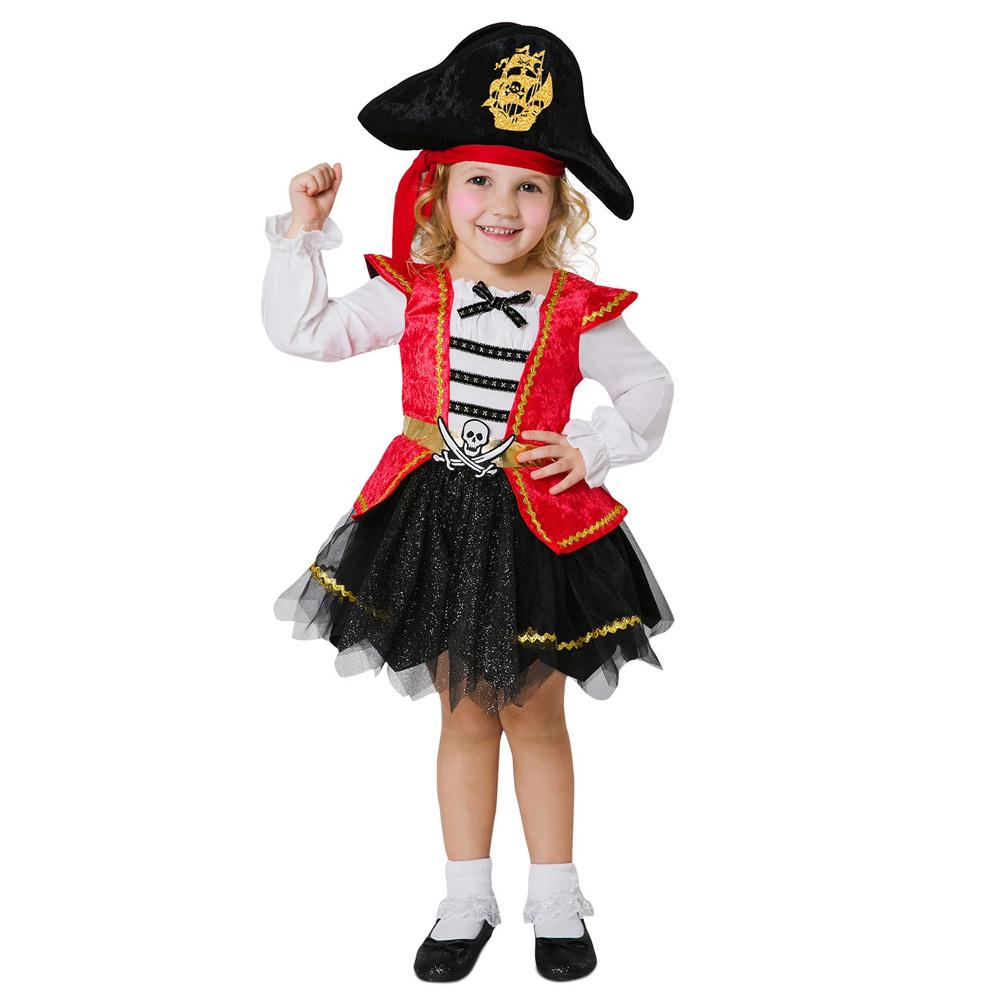 Disfraz Pirata Caribeña Bebé