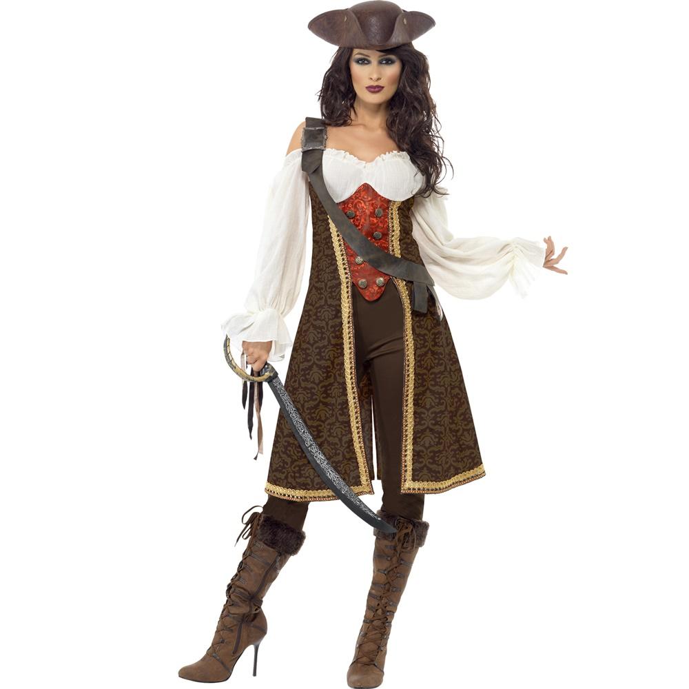 Disfraz Pirata de Alta Mar Mujer
