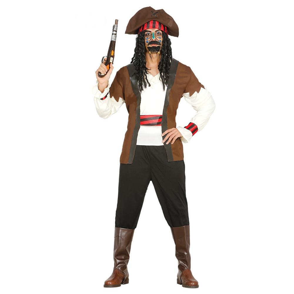 Disfraz Pirata de los 7 Mares Adulto