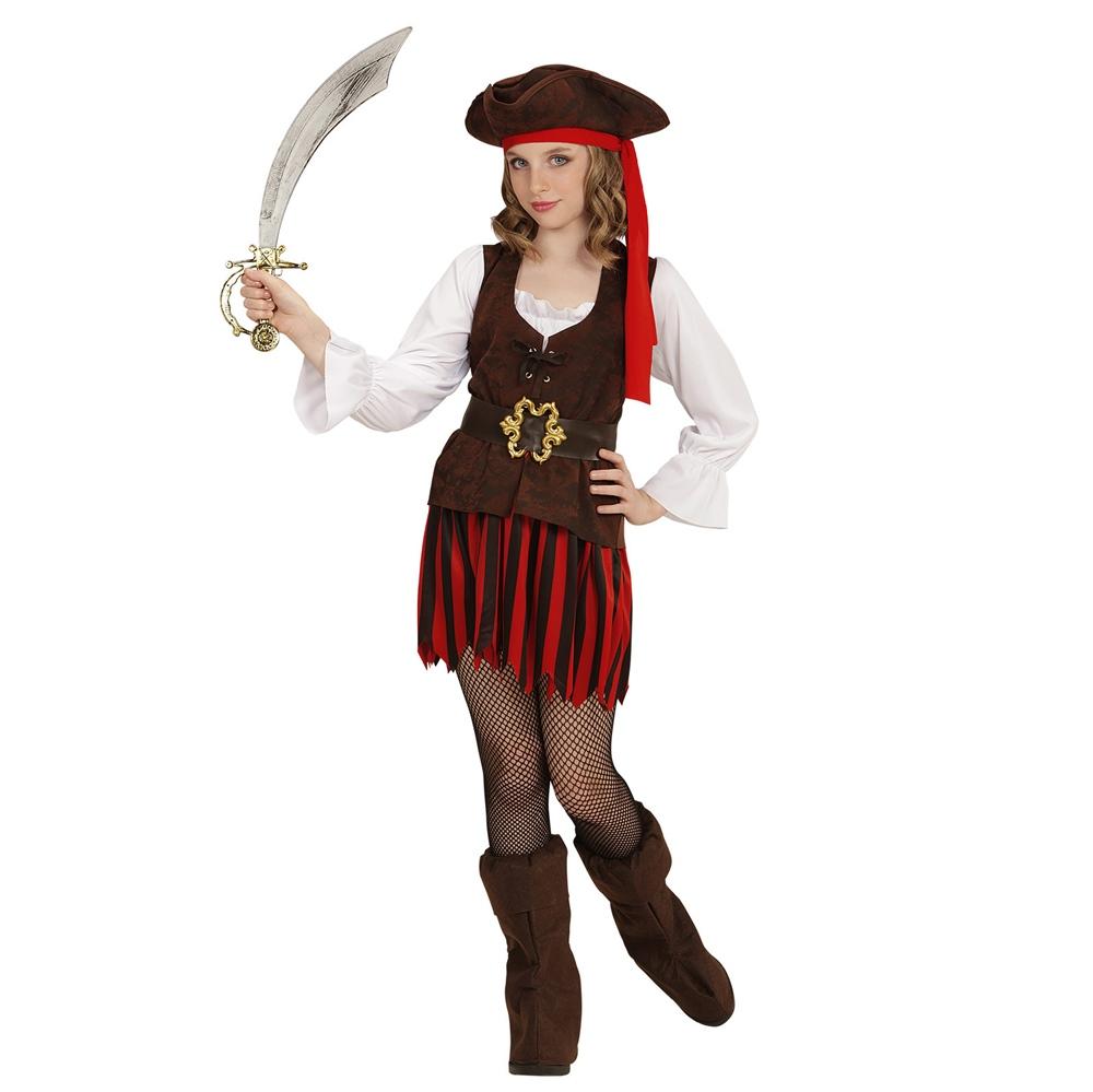 Disfraz Pirata del Caribe Niña