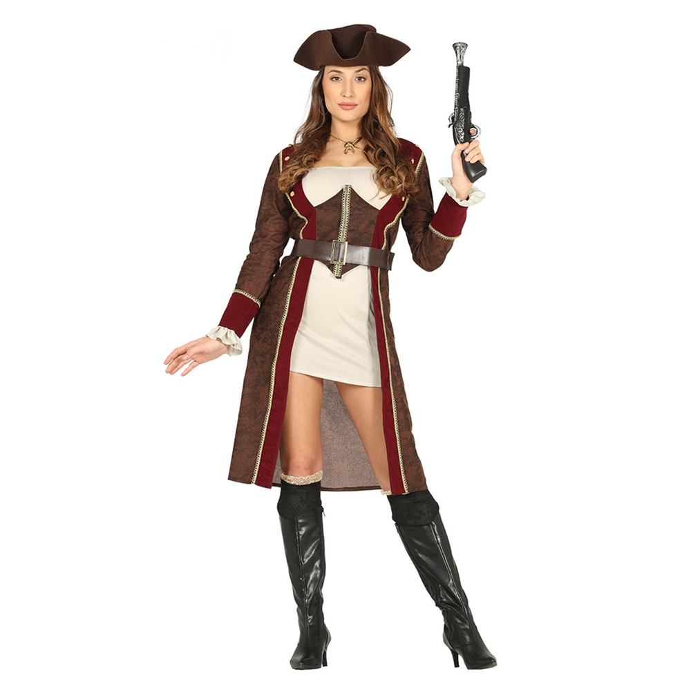 Disfraz Pirata Lujo Mujer