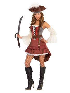 Disfraz Pirata Náufrago Mujer