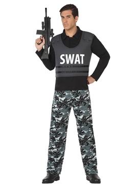 Disfraz Policía SWAT Hombre