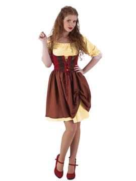 Disfraz Posadera Medieval Adulto