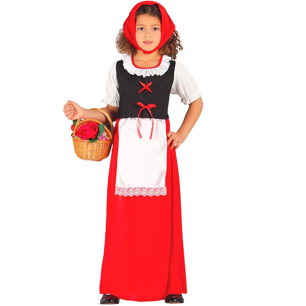 Disfraz Posadera Rojo Infantil