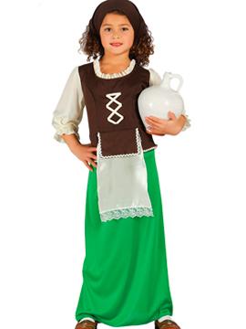 Disfraz Posadera Verde Infantil