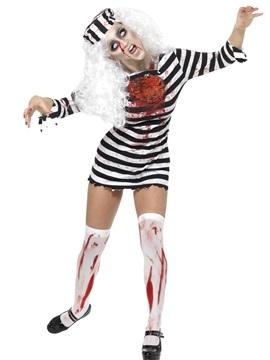 Disfraz Presa Zombie Adulto