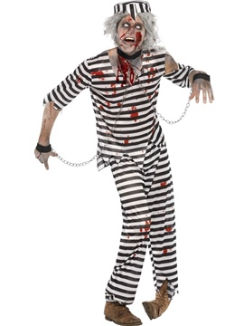 Disfraz Preso Zombie Adulto