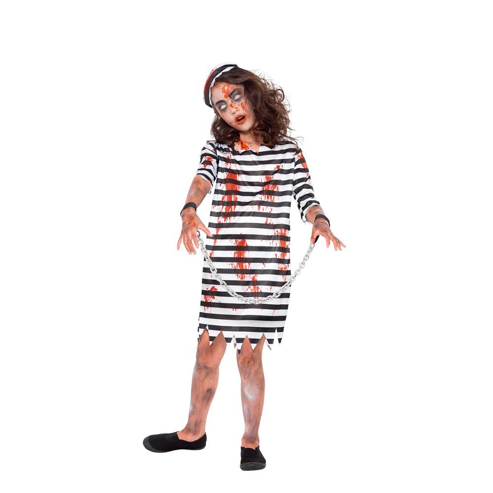 Disfraz Preso Zombie Niña Halloween - Envíos en 24 H