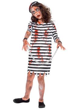 Disfraz Preso Zombie Niña