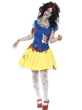 Disfraz Princesa de las Nieves Zombie Adulto