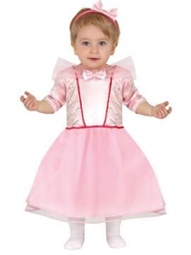 Disfraz Princesa Rosa Bebé