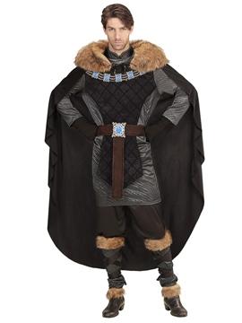 Disfraz Príncipe Medieval con Capa Adulto