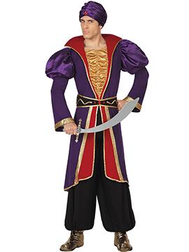 Disfraz Príncipe Árabe Hombre Adulto