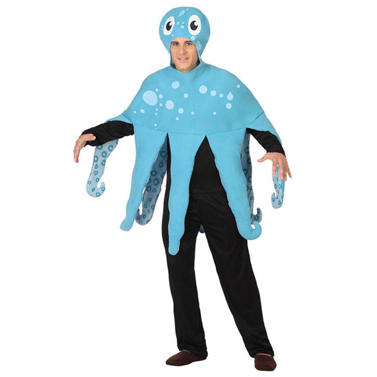 Disfraz Pulpo Azul Adulto