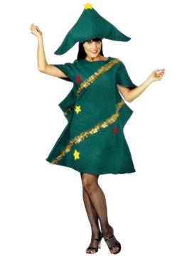 Disfraz Árbol de Navidad Adulto