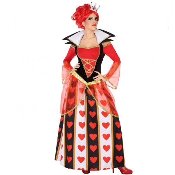 Disfraz Reina de Corazones Mujer