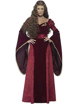 Disfraz Mujer Reina Medieval Adulto