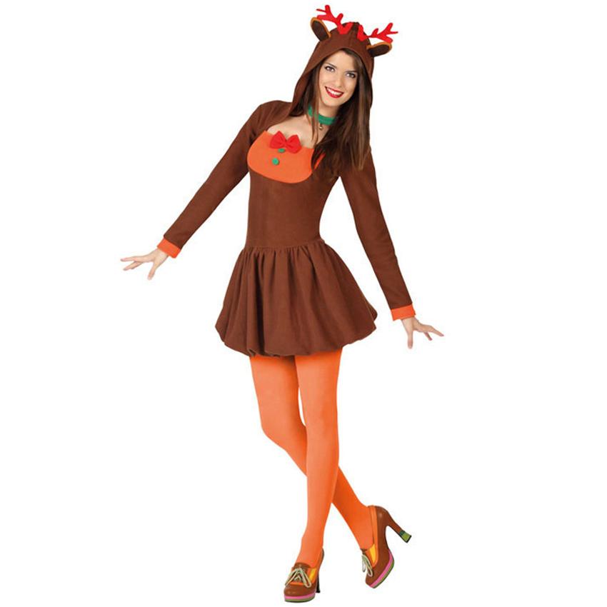 3010a2810 Disfraz Reno Mujer Adulto