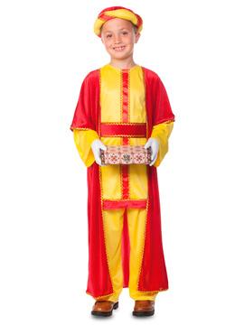 Disfraz Rey Mago Baltasar Niño