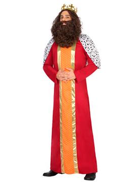 Disfraz Rey Mago de Oriente Gaspar Adulto