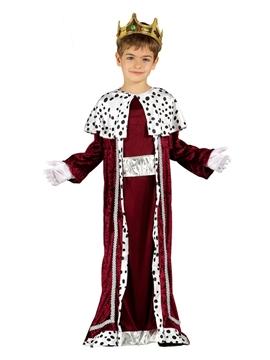 Disfraz Rey Mago Rubio Infantil