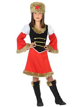 Disfraz Rusa Niña