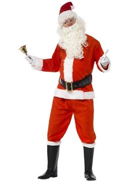 Disfraz Santa Claus Deluxe Adulto