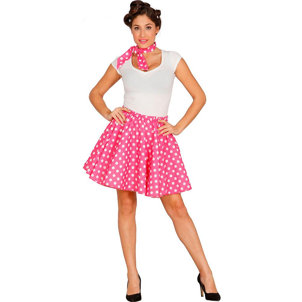 ▷ Set Disfraz Pin Up Rosa Adulto Carnaval - Envío 24 hr ✅ fd7b684998e6b