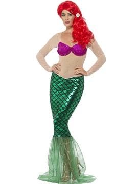 Disfraz Sirena Deluxe Adulto