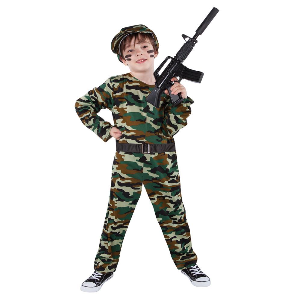 Disfraz Soldado de Combate Infantil
