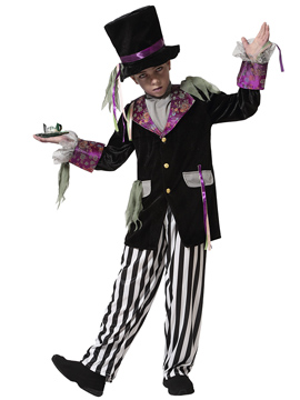 Disfraz Sombrerero Loco Halloween Niño