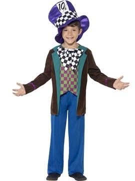 Disfraz Sombrerero Deluxe Infantil