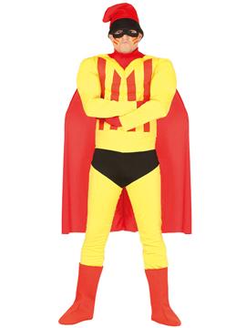 Disfraz Superhéroe Catalán Adulto