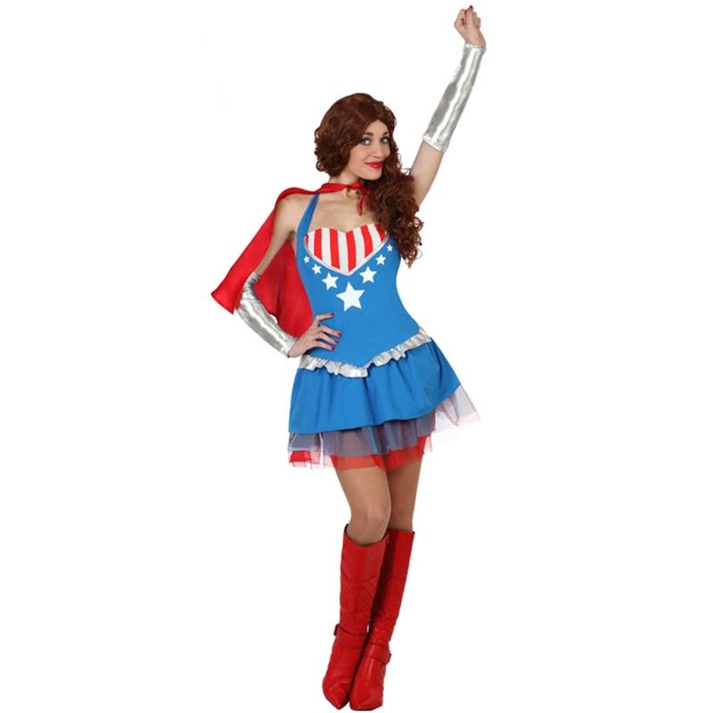 Disfraz Superheroína Adulto