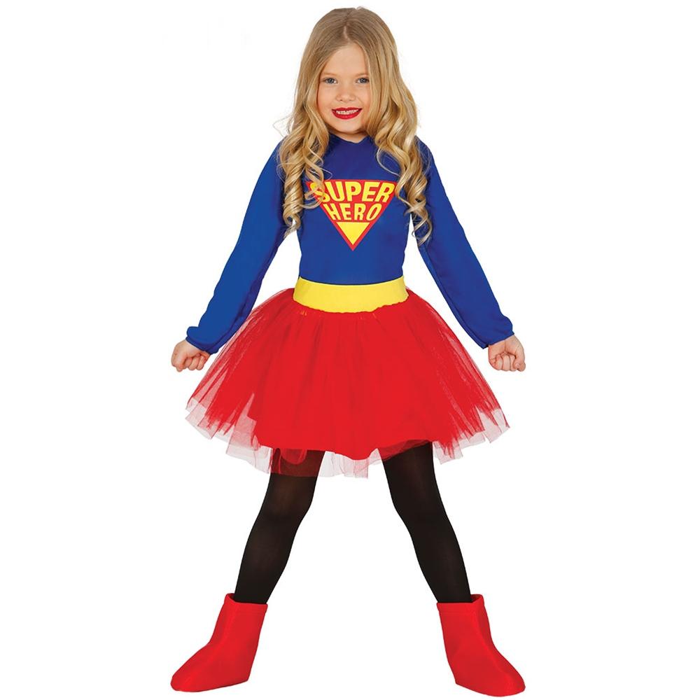 Disfraz Superheroína Infantil