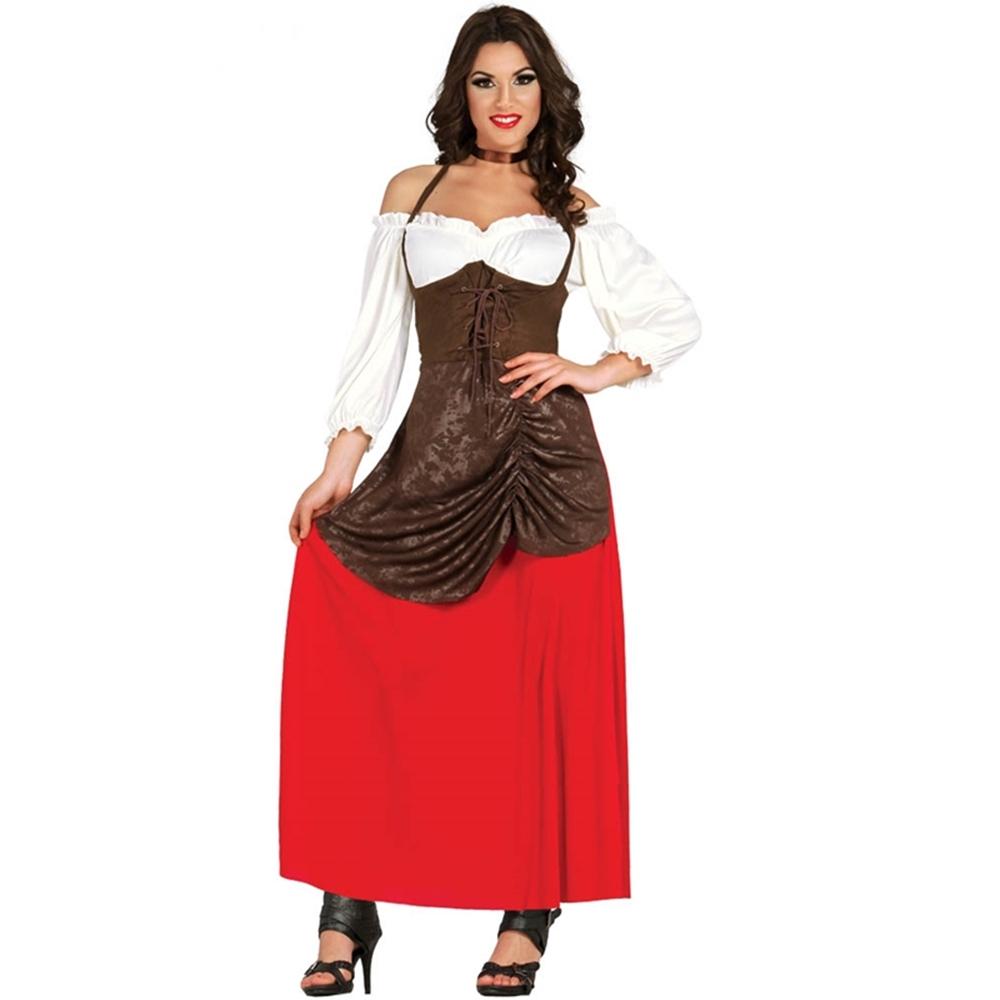 Disfraz Tabernera Medieval Adulto