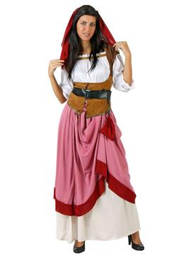 Disfraz Tabernera Medieval Mujer
