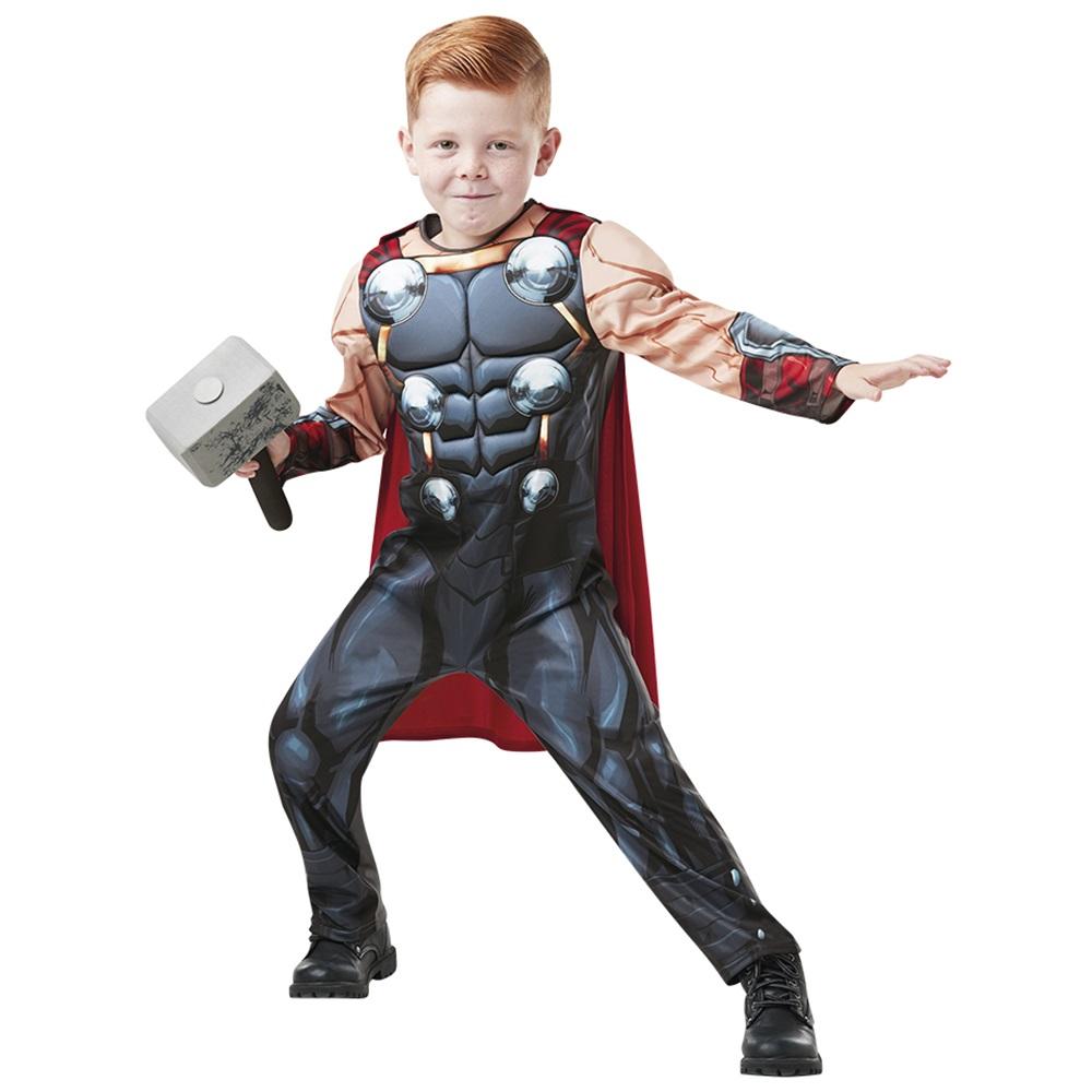 Disfraz Thor Deluxe Infantil con Martillo
