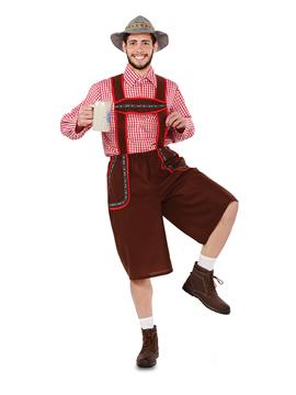 Disfraz de Tirolés Adulto