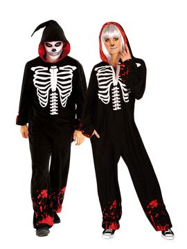Disfraz Esqueleto Unisex Adulto