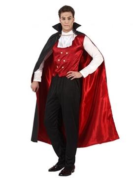 Disfraz Vampiro Rojo Adulto
