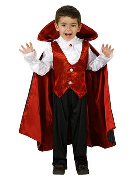 Disfraz Vampiro Rojo Infantil