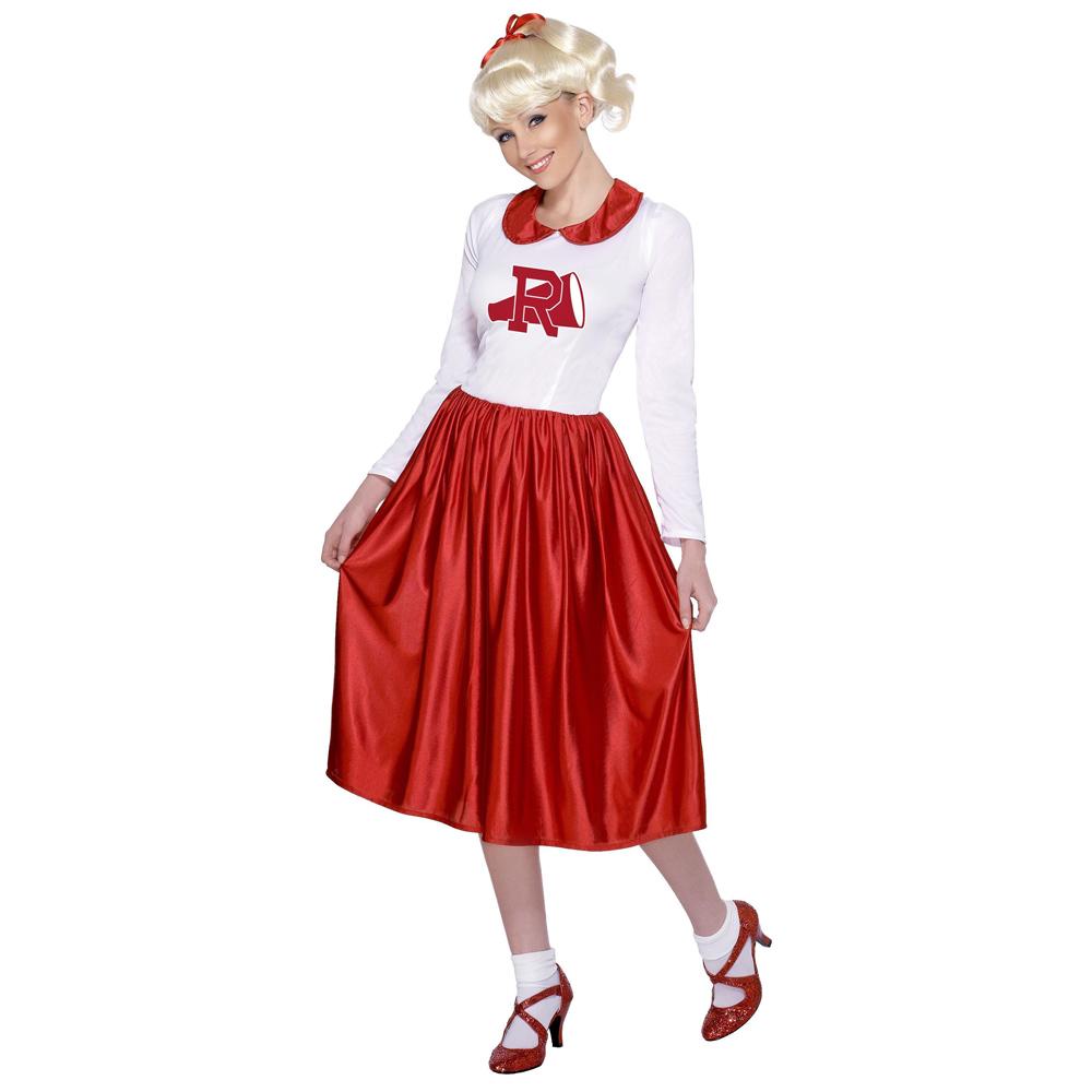 Disfraz Vestido Animadora Sandy Grease